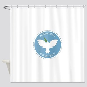 Day Of Peace Shower Curtain