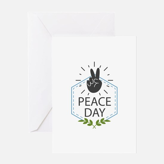 Peace Day Greeting Card