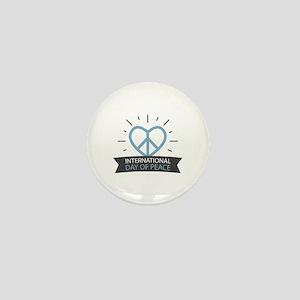 Peace Day Mini Button