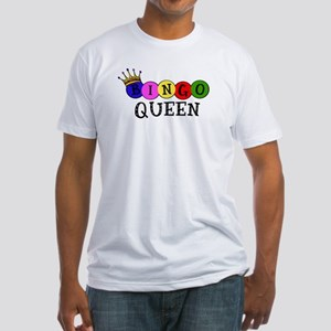 Bingo Queen Fitted T-Shirt