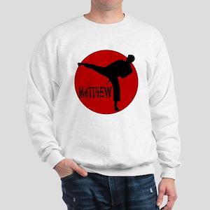 Matthew Martial Artist Sweatshirt
