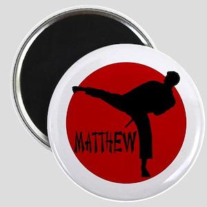 Matthew Martial Artist Magnet