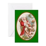 Santa's Dreams - Christmas Cards (Pk of 20)