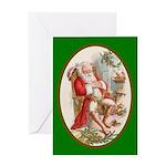 Santa's Dreams - Christmas Card