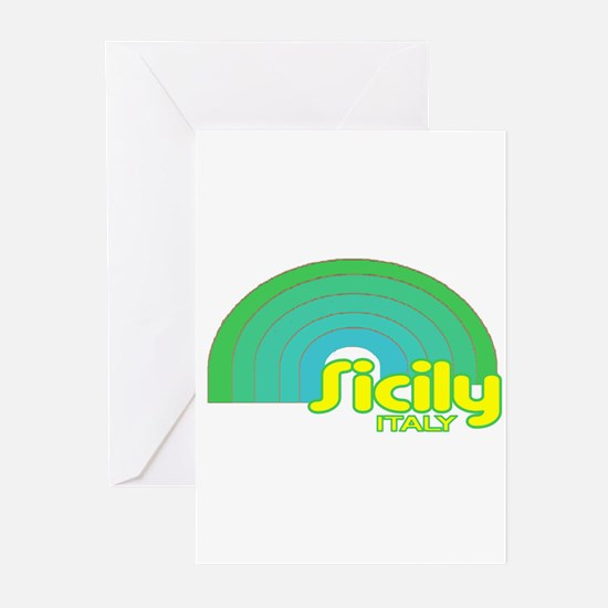 Sicily, Italy Greeting Cards (Pk of 10)