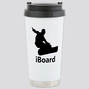 iBoard 16 oz Stainless Steel Travel Mug