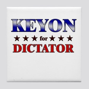 KEYON for dictator Tile Coaster
