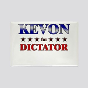 KEVON for dictator Rectangle Magnet