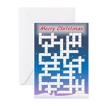 Crossword - More Challenging - Cards (Pk of 20)