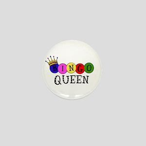 Bingo Queen Mini Button