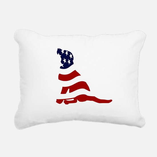 PatriotLab_T.png Rectangular Canvas Pillow