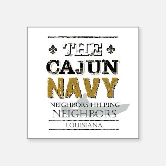 The Cajun Navy Neighbors Helping Neighbors Sticker