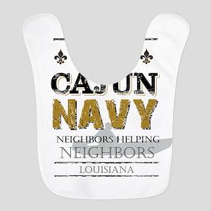 The Cajun Navy Neighbors Helpin Polyester Baby Bib