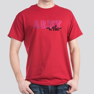Army Wife - Jersey Style Dark T-Shirt