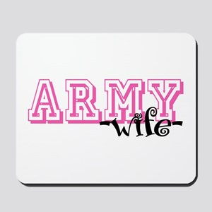 Army Wife - Jersey Style Mousepad