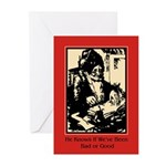 Santa Knows - Christmas Cards (Pk of 20)