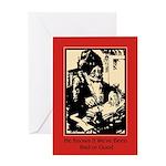 Santa Knows - Christmas Card