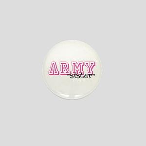 Army Sis - Jersey Style Mini Button