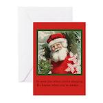 Santa Sees - Christmas Cards (Pk of 20)