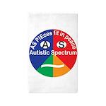 Autistic Symbol Area Rug