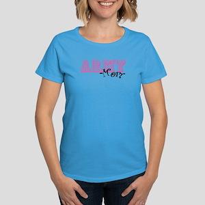 Army Mom - Jersey Style Women's Dark T-Shirt