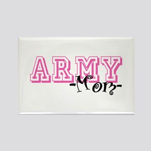 Army Mom - Jersey Style Rectangle Magnet