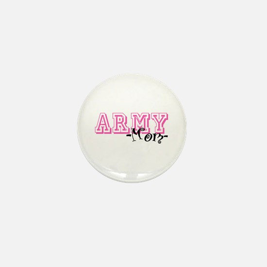Army Mom - Jersey Style Mini Button