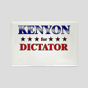 KENYON for dictator Rectangle Magnet