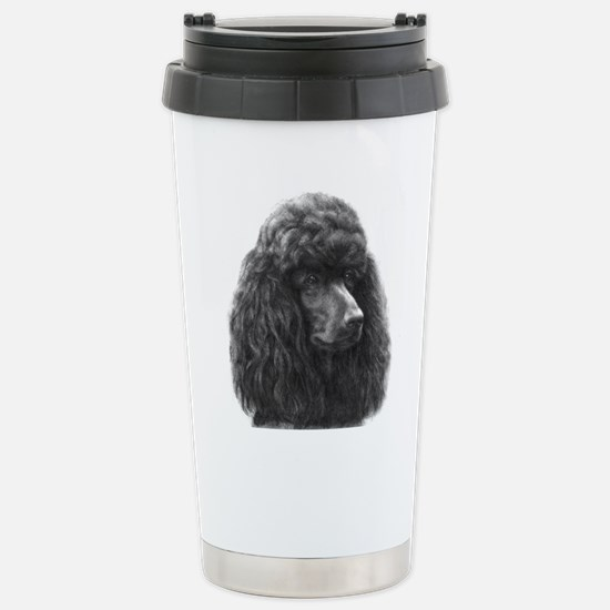 Black or Chocolate Poodle Mugs