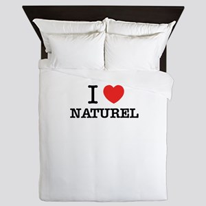 I Love NATUREL Queen Duvet