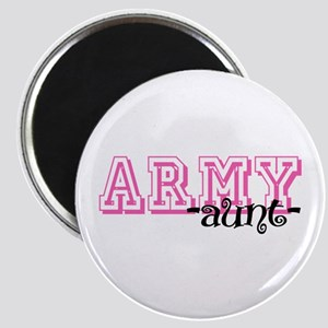 Army Aunt - Jersey Style Magnet