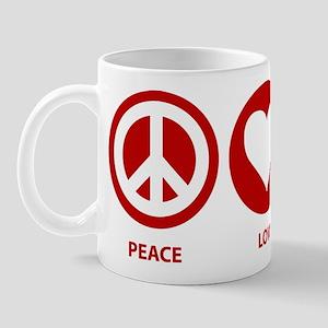 Peace Love CCCP Mug