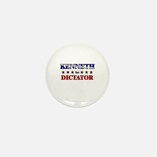 KENNETH for dictator Mini Button