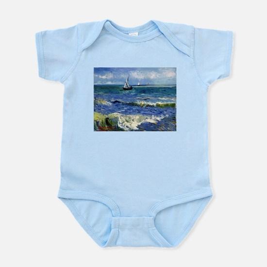 Vincent van Gogh Seascape near Les Saint Body Suit