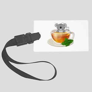 Koala-Tea (Quality) Large Luggage Tag