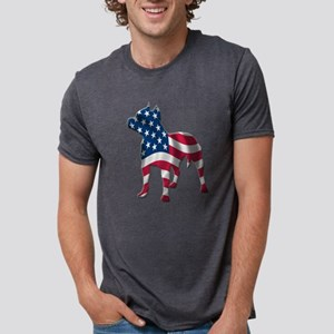pit bull usa silhouette T-Shirt