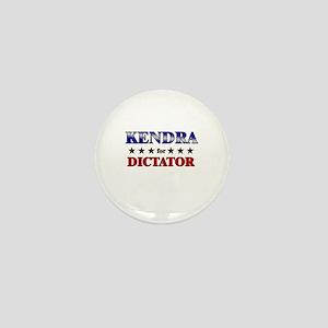 KENDRA for dictator Mini Button