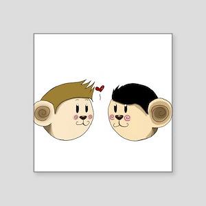 Monkey Destiel Sticker