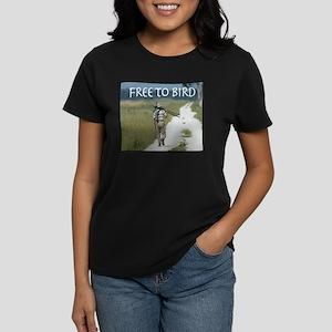 Free To Bird Women's Dark T-Shirt