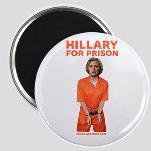 Hillary For Prison Magnets