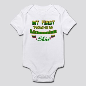 My first proud to be Lithuani Infant Bodysuit