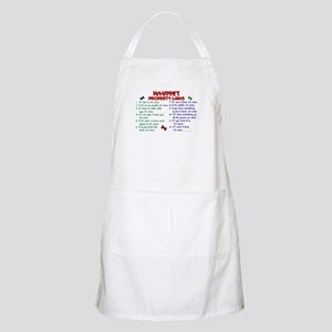 Whippet Property Laws 2 BBQ Apron