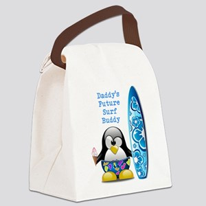 Daddy's Future Surf Buddy Canvas Lunch Bag