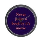 Never judge a book by it's movie Wall Clock