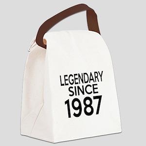 Legendary Since 1987 Canvas Lunch Bag