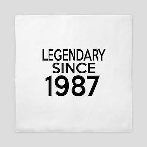 Legendary Since 1987 Queen Duvet
