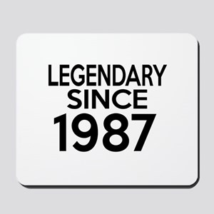 Legendary Since 1987 Mousepad