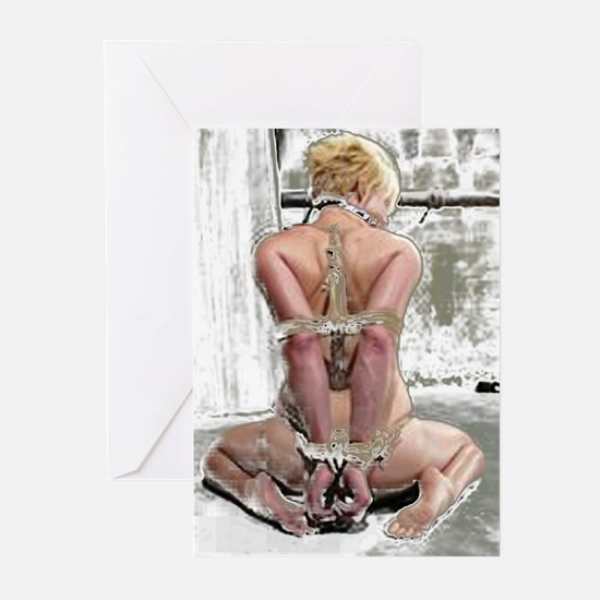 Blonde Submissiv Greeting Cards (Pk of 10)