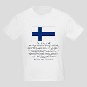 Finland Kids Light T-Shirt