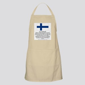 Finland BBQ Apron